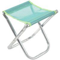 Cadeira dobrável de alumínio portátil assento fezes ao ar livre pesca acampamento piquenique acolchoado|Cadeiras de pesca|   -