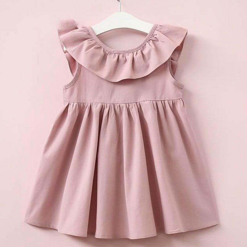 H6e8408d044a9494fbdbb150550cc743f9 Lemon Girl Baptism New 2018 Sleeveless Kid Dresses Girls Party Princess Vestidos Nina 6 7 Year Cowboy Dress