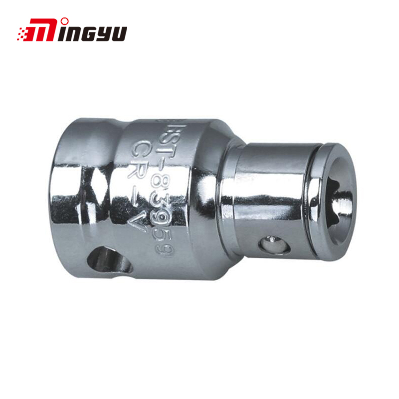 1pc 3/8 1/2 Inch Square Drive To 1/4 5/16 3/8 Inch Hex Shank Adapter Wrench Converter Tool Screwdriver Bit Holder Socket Adapter