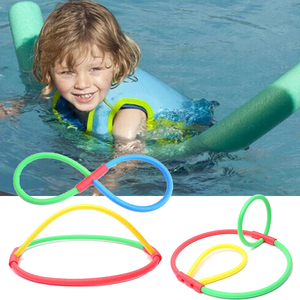 Flexible Colorful Solid Foam Pool Noodles Swimming Water Float Educational Kids Children Gifts Summer Swimming Pool Accessories