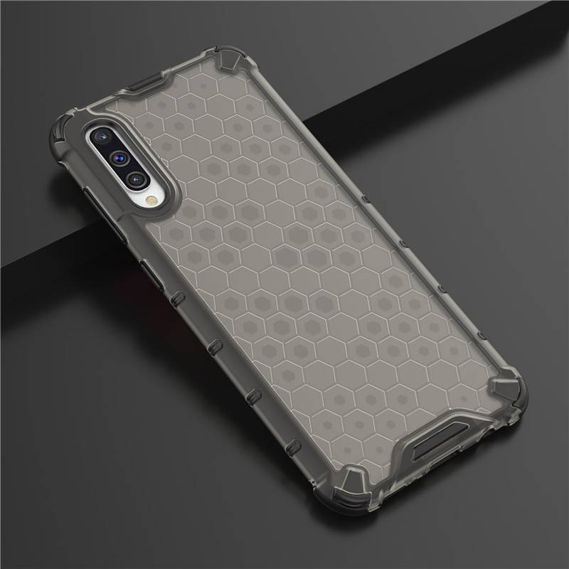 For <font><b>Samsung</b></font> <font><b>Galaxy</b></font> <font><b>A50</b></font> Dual Layer Armor Hybrid Shockproof Cover For <font><b>Galaxy</b></font> <font><b>A50</b></font> 2019 SM A505FN/DS SM-<font><b>A505</b></font> SM-A505F Clear Case image