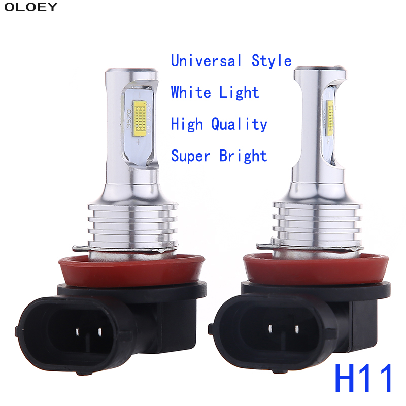 2Pcs/Set H7 <font><b>LED</b></font> Car Headlight <font><b>110W</b></font> <font><b>H4</b></font> H11 9005 9006 Lights Bulbs Car Front Bulb Super Bright White Beam 6000K 12V Auto Fog Lamp image