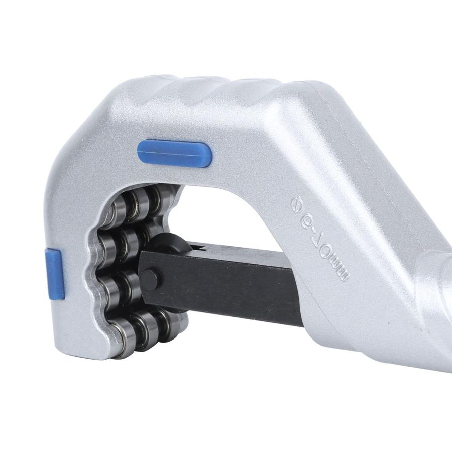 Adjustable Alloy Stainless Steel 0.2~2.8In Pipe Cutter Simple Silver and Black Cutter for Cutting Copper Pipes Cutting Aluminum Pipes