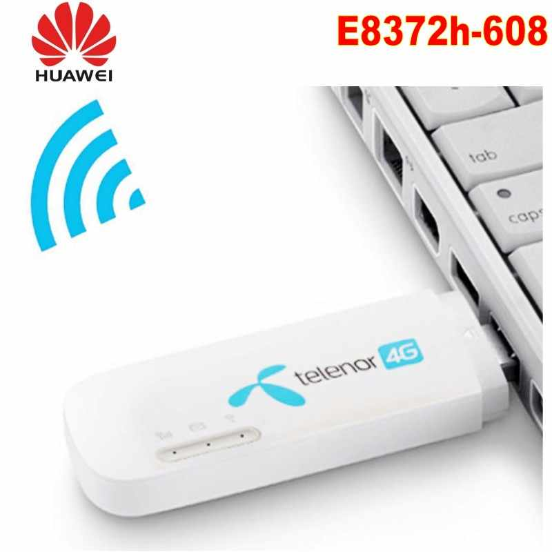 סמארטפון Huawei E8372 4g מודם נתב ה-sim E8372h-608 4G Wifi נתב 3g 4G Wifi מודם 4g wifi sim כרטיס wi-fi אנדרואיד רכב dvd w800