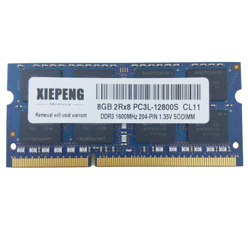 <font><b>16GB</b></font> 2Rx8 PC3L-12800S 8GB <font><b>DDR3</b></font> 1600MHz 4GB PC3L 12800 <font><b>RAM</b></font> Notebook Speicher für Lenovo ThinkPad Yoga 15 T560 L460 T460 <font><b>Laptop</b></font> image