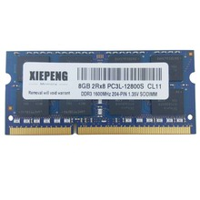 16GB 2Rx8 PC3L-12800S 8GB DDR3 1600MHz 4GB  PC3L 12800 RAM Notebook Memory for Lenovo ThinkPad Yoga 15 T560 L460 T460 Laptop