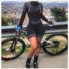 2020 pro equipe triathlon terno feminino preto camisa de ciclismo skinsuit macacão maillot ciclismo ropa ciclismo conjunto rosa gel almofada 16