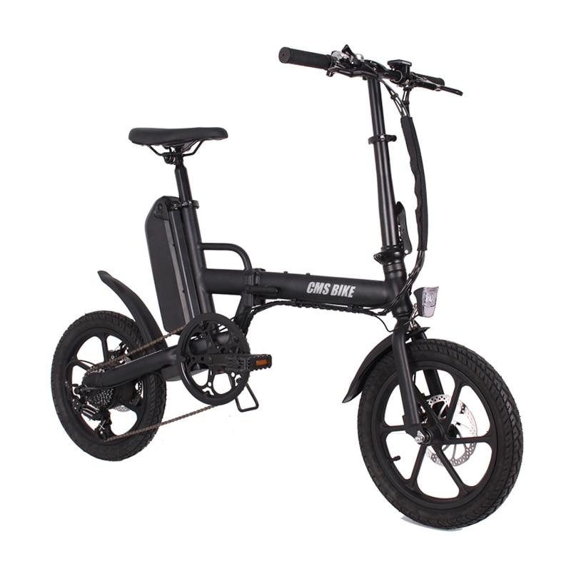 folding 16 inch 36v CMS-F16-Plus ebike adult folding electric bike mini electric bicycle 1