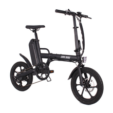 folding 16 inch 36v CMS F16 Plus ebike adult folding electric bike mini electric bicycle