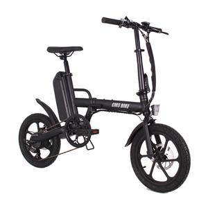 Image 1 - folding 16 inch 36v CMS F16 Plus ebike adult folding electric bike mini electric bicycle
