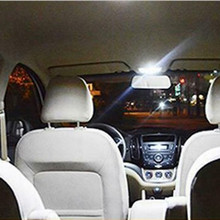 4pcs/set 41mm LED Car Bulb Interior Map Dome Trunk License Plate Lights Kit Auto Replacement Accessories