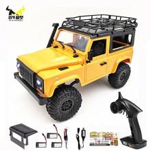 Wpl 1:12 d90 rc caminhão carro 4wd 2.4g rtr fora de estrada rock crawler atualizado mn99s defender caminhão de carro de controle remoto 1/12 brinquedos para crianças