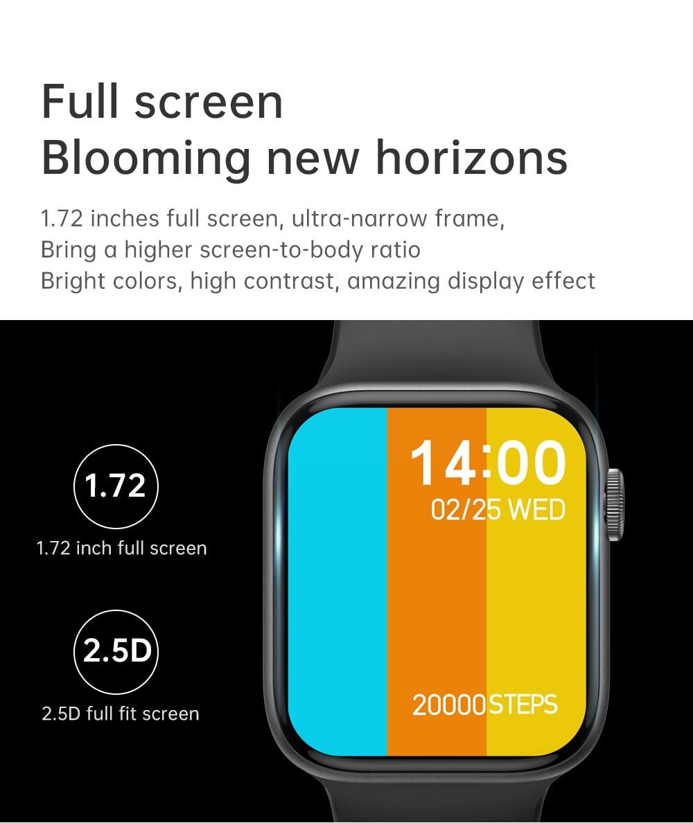 H6e850cfb9e5e4e49a7c908856b4b34e5n IWO 13 Pro T800 Smartwatch 2021 1.72 Inch Bluetooth Call DIY Dail Fitness Bracelet Smart Watch Men Women PK IWO W46 W56 Series 6