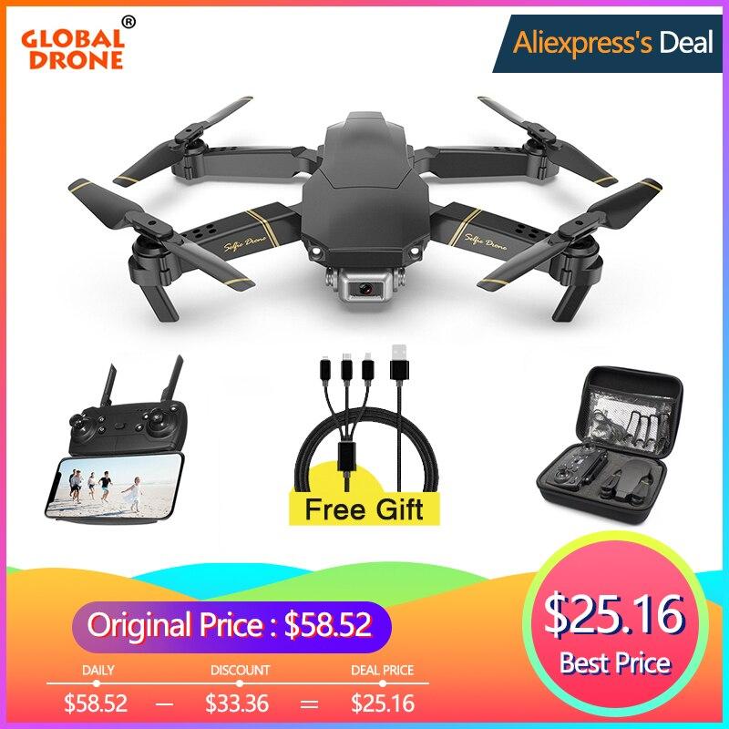 Global Drone EXA Dron con cámara HD 1080P en directo Video Drone X helicóptero RC pro FPV giroscopio Drones del Drone E58 E520