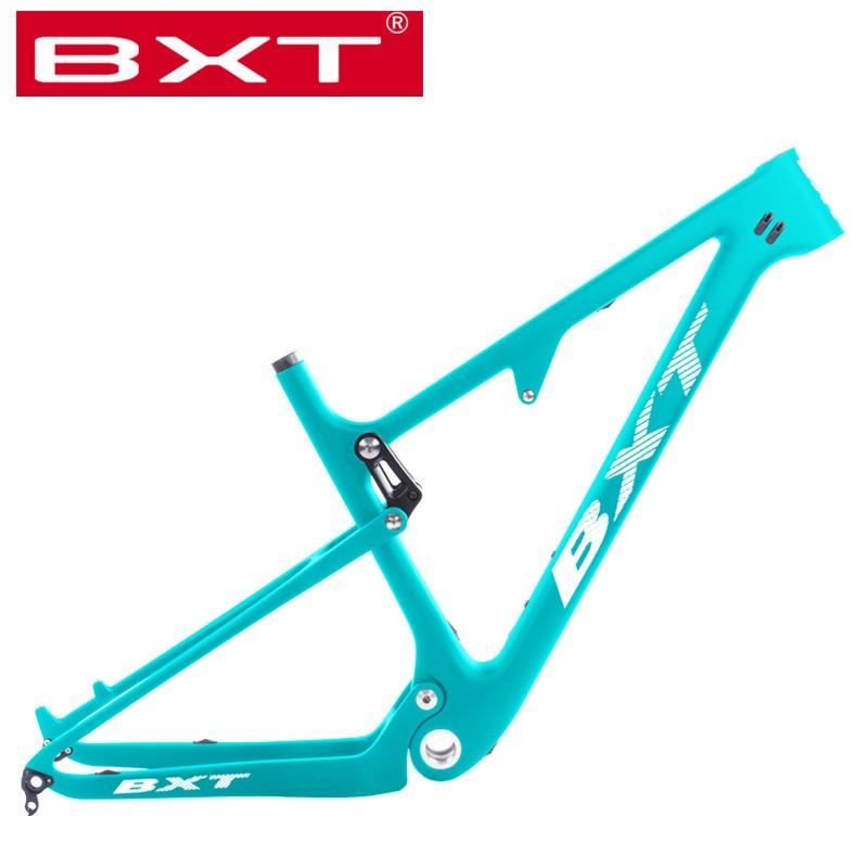 Mountain Bike 29er Frame Full Suspension 12*148 Boost MTB Light T800 Carbon Frame 29 XC DH Mountain Bicicleta Softtail Frame