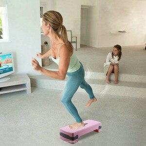 Image 2 - Equipo de ejercicio ajustable plataforma de paso para deportes y Fitness, ejercicio aeróbico multifuncional Step Workout Stepper de Fitness ejercicio
