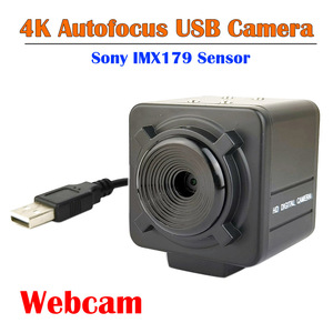 4K Автофокус USB камера Sony IMX179 сенсор 3264X2448 Mjpeg HD видео конференции веб-камеры UVC OTG USB2.0 камера для ПК компьютера