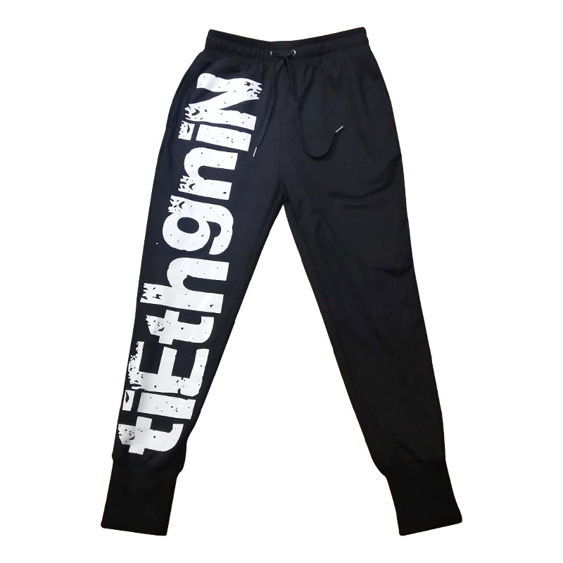 2020 HOT Printed Street Fashion Mens Joggers Cargo Sweatpants Hip Hop Printed Casual Pencil Trousers Streetwear Elastic