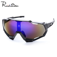 цены на UV400 Outdoor Anti-wind sport sunglasses Eyewear Colorful Sports Cycling Sunglasses Sun Glasses Bicycle Glasses Men Women  в интернет-магазинах