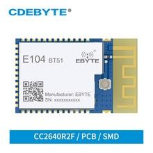 5PCS CC2640R2F BLE 5.0 Bluetooth Module 2.4GHz iBeacon Low Power 5dBm PCB Antenna SMD UART Wireless Transceiver DIY IoT
