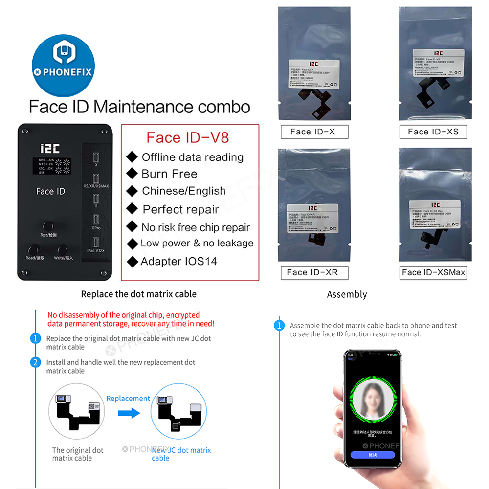 i29C Iface V29 Programmer Fix iPhone Face ID Not Working for iPhone