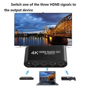 Image 2 - HDMI ses Extractor dönüştürücü 5.1CH/ 2CH ses dağıtıcı kablosu 4k Stereo Analog HDMI HDMI optik SPDIF adaptörü dönüştürücüler
