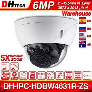 Dahua IPC-HDBW4631R-ZS 6MP IP Camera CCTV POE Motorized Focus Zoom 50M IR SD Card Slot Security Network Camera H.265 IK10(China)