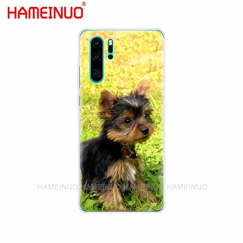 Силиконовый чехол для телефона huawei P30 PRO LITE P SMART 2019 plus p smart Z p20 lite 2019 йоркширский терьер собака щенок