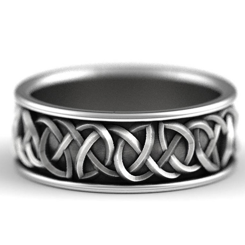 Серебро 925, североевропейская мифология, волк, Finriel, защита, тотем, амулет, хип-хоп, волк, кольцо, Мужские Винтажные Ювелирные изделия