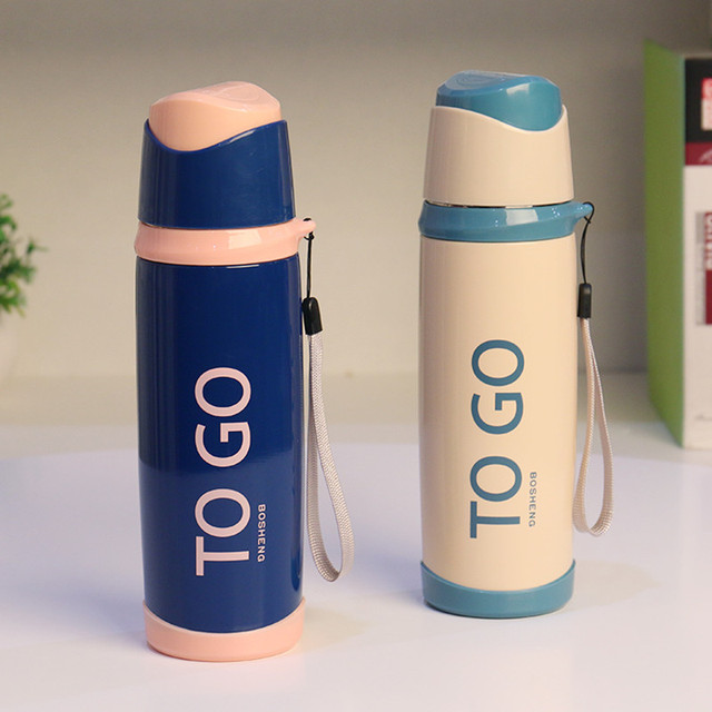 Fashion Stainless Steel Portable Sport Thermal Vacuum Flask Water Bottle