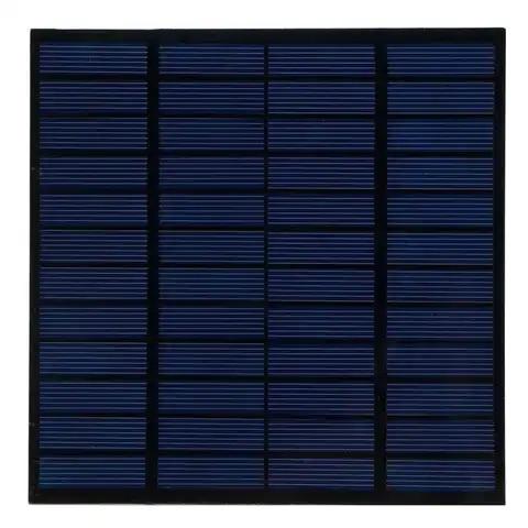 painel solar de carregamento 3w 12v modulo de painel solar de silicio policristalino para carregador