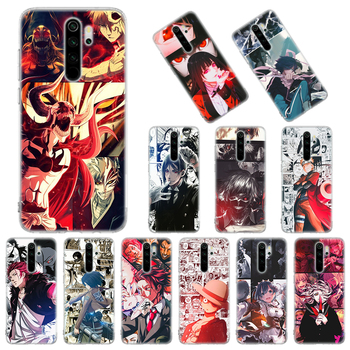 Перейти на Алиэкспресс и купить Мягкий чехол для Xiaomi Redmi Note 8T 9S 6 7 8 Pro 9 Pro K20 K30 Pro 6A 7A 8A с рисунком аниме манги из японского мультфильма, силиконовый чехол