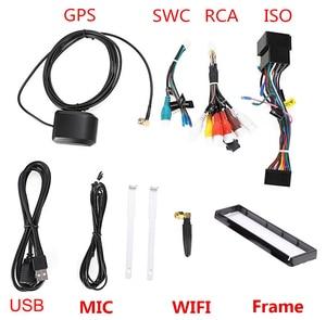 Image 4 - Eunavi 4G RAM 1 Din Android 9.0 Octa 8 Core Car DVD Player For Universal GPS Navigation Stereo Radio WIFI MP3 Audio USB SWC