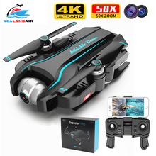 WIFI Drone 4K HD with Adjustable Wide Angle Camera FPV Real Time Aerial Video Fo