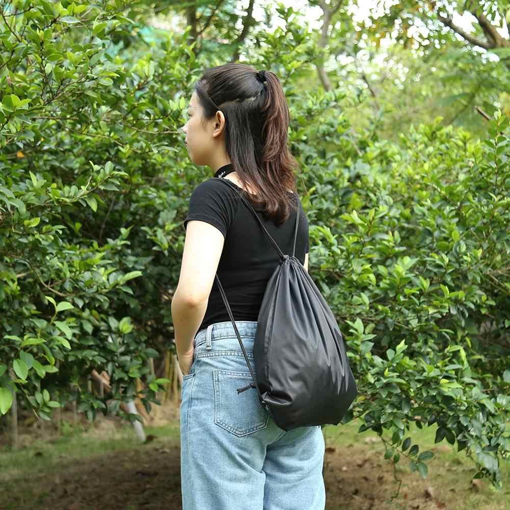 Outdoor Sports plecaki ze sznurkiem wodoodporne przechowywanie plecak plecak torba na siłownię dla kobiet mężczyźni Travel Fitness joga torby do biegania
