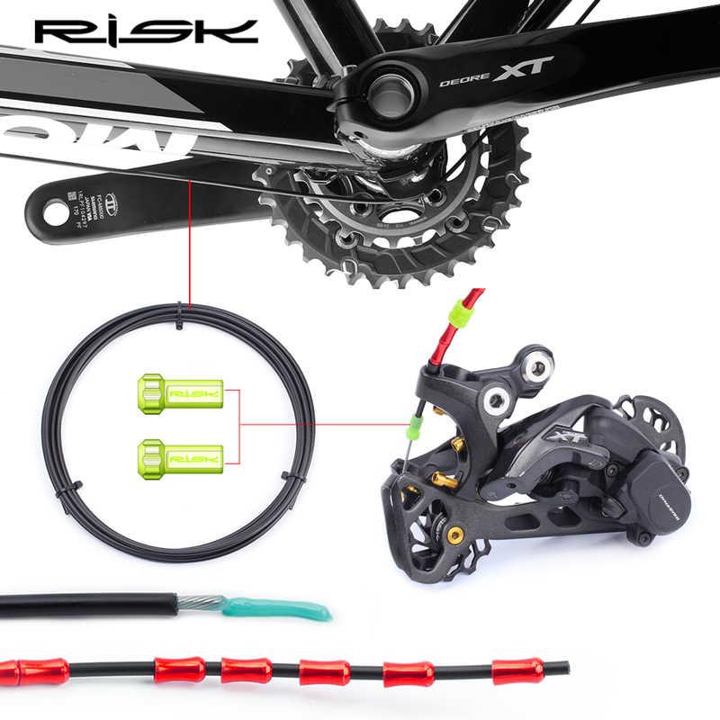 2020 Cambio de freno de bicicleta de riesgo Lube catéter 3M desviador de bicicleta lleno de aceite tubo de Cable de freno para bicicleta de carretera MTB