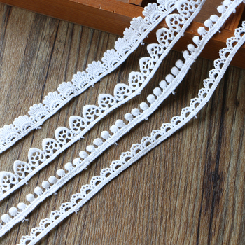 Embroidery Lace Fabrics Curtains 1