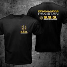 Cotton Shirts Special-Forces-Service Ssg Commandos Military Army Summer-Style Pakistan
