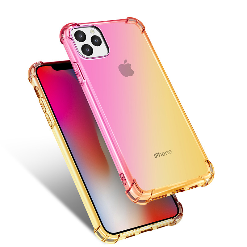 Gradient Clear Silicone Case for iPhone 11/11 Pro/11 Pro Max 16