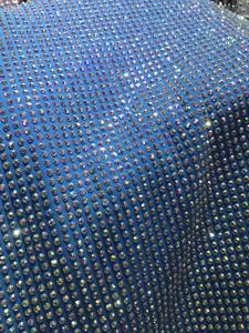Image 4 - Heavy rhinestones French Tulle Lace Latest JIANXI.C 388809 Embroidered Net Lace Luxury rhinstones Lace Fabric
