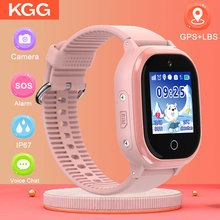 TD06S GPS IP67 Waterproof Phone Positioning Fashion Children Watch 1.3 Inch Color Touch Screen SOS Baby Smart Watch Boys Girls zgpax pg88 gsm watch phone w 1 44 lcd screen quad band gps positioning and sos black silver