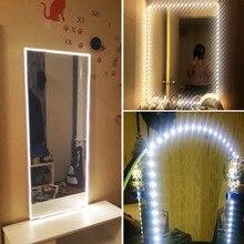 Светильник для зеркала для макияжа, подарок для девочек, зеркало для туалетного столика, светодиодсветильник лампа для туалетного зеркала, ...