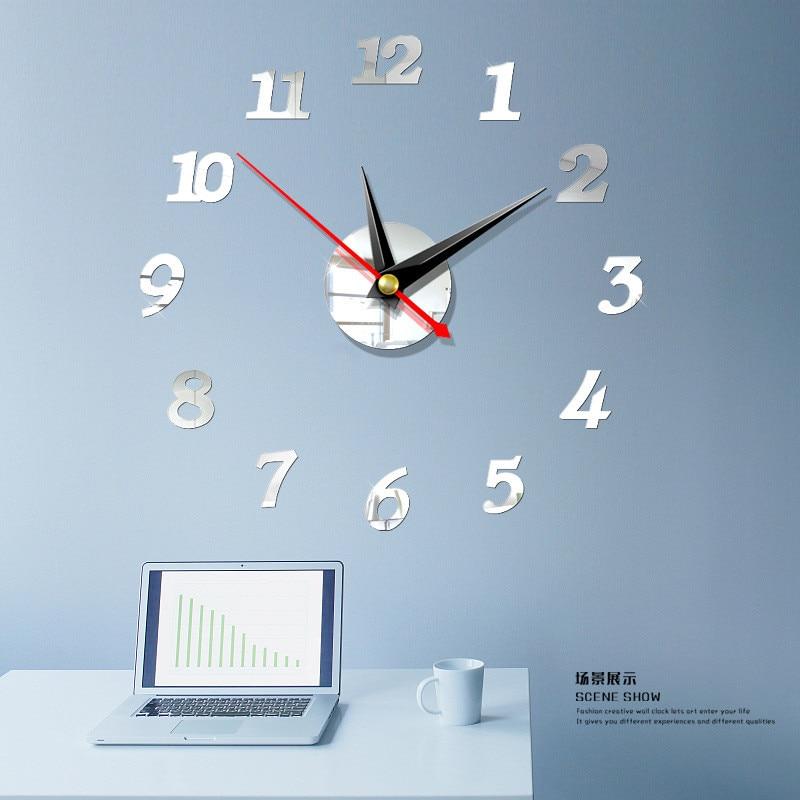 2020 Free Shipping New Clock Watch Wall Clocks 3d Diy ...