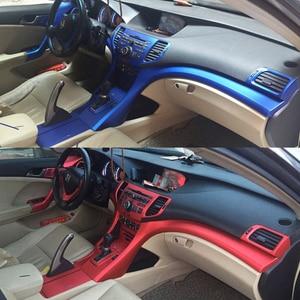 Para Honda Spirior 2009-2013 autoadhesivos para coches pegatinas de fibra de carbono pegatinas de vinilo para coche y calcomanías accesorios de diseño para coches
