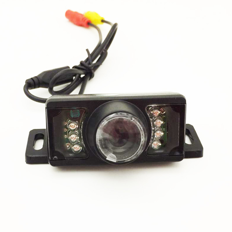 Export-Short License Plate Framework High-definition Camera Night Vision Light Included Reverse Image CCD Bracket On Board Camer