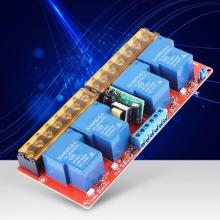 цена на 4 Channel Relay 30A DC 5V to AC 100-250V High Low Level Trigger Relay Module for Arduino