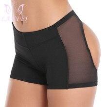 Panties Short Lifter Body-Shaper Buttock Push-Up LANFEI Women Underwear Tummy-Control