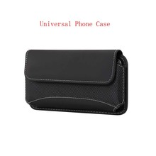 Universal Phone Case For iphone Huawei Xiaomi Pouch Belt Clip Holster Leather Cover Waist Bag Durable Oxford KS0316
