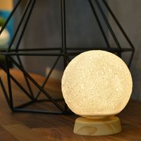 Strange New Product LED Moon Night Lamp Creative Gift Lamp Bedside Charging Touch Pat Moon Light