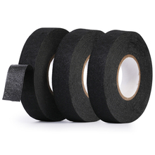 Car Cable Harness Wiring Adhesive Cloth Fabric Tape for kia ceed rio rio 3 rio 4 sportage sorento picanto soul tanie tanio VCiiC PET fleece Heat-resistant Fabric Tape Adhesive Wiring Harness Tape Electrical Tape Car Electrical Tape